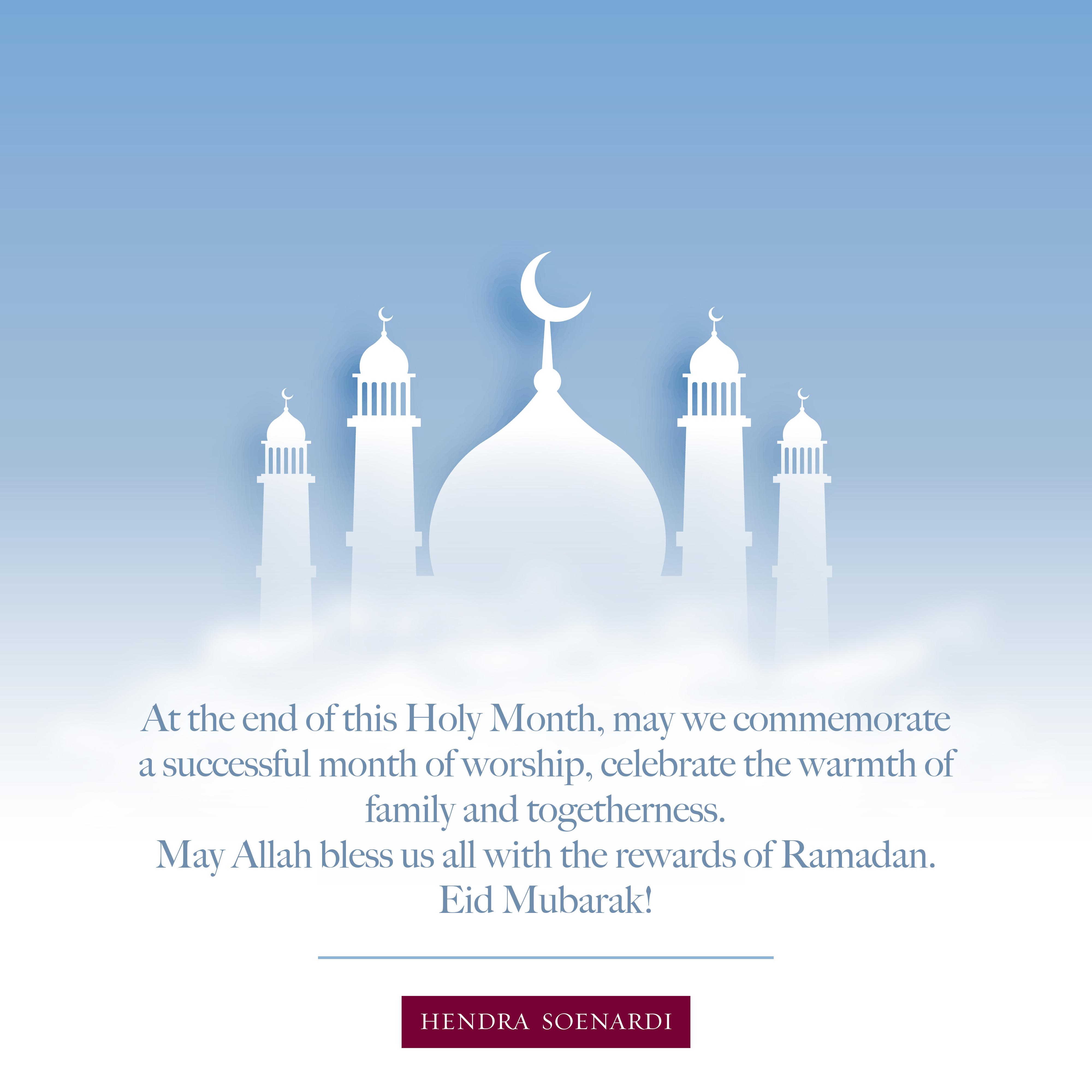Eid Mubarak 1441 Hijriyah!