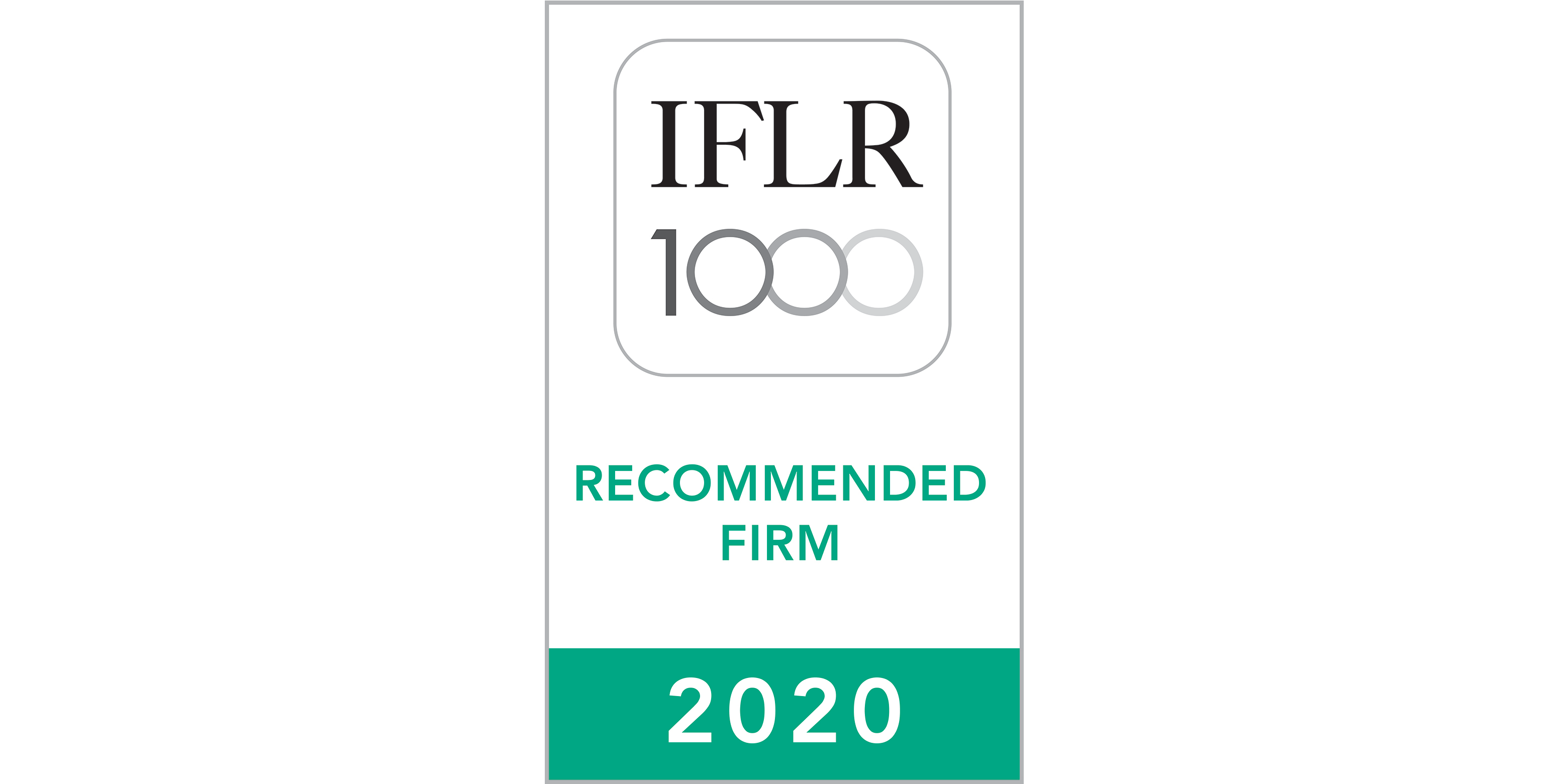 IFLR 1000 Recommended Firm 2020